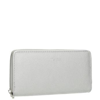 Portfel damski srebrny bata, srebrny, 941-2155 - 13