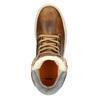 Zimowe buty damskie ze skóry bata, brązowy, 596-4684 - 15
