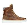 Zimowe buty damskie ze skóry bata, brązowy, 596-4684 - 26
