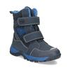 Zimowe buty dziecięce na rzepy mini-b, niebieski, 491-9653 - 13