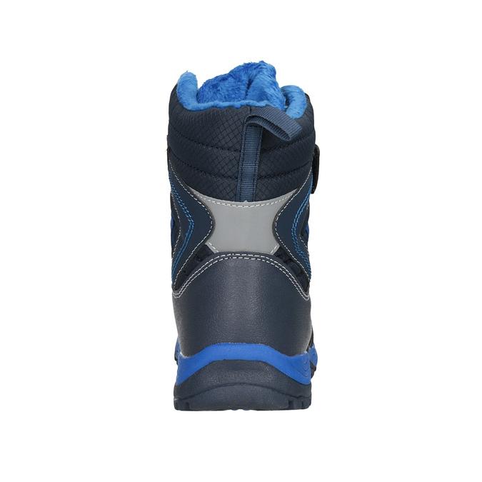 Zimowe buty dziecięce na rzepy mini-b, niebieski, 491-9653 - 16