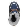 Zimowe buty dziecięce zfuterkiem bubblegummer, niebieski, 199-9603 - 15