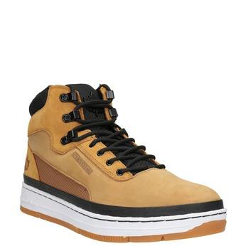 Męskie buty za kostkę, brązowy, 806-3552 - 13