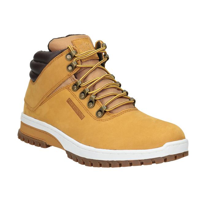 Zimowe skórzane buty męskie, brązowy, 806-3495 - 13