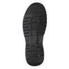 Nieformalne skórzane trampki męskie bata, czarny, 896-6705 - 17