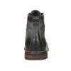 Skórzane buty zniebieskimi detalami bata, szary, 896-2679 - 17