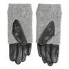 Skórzane rękawiczki zdzianinowymi ocieplaczami bata, szary, 904-2125 - 16