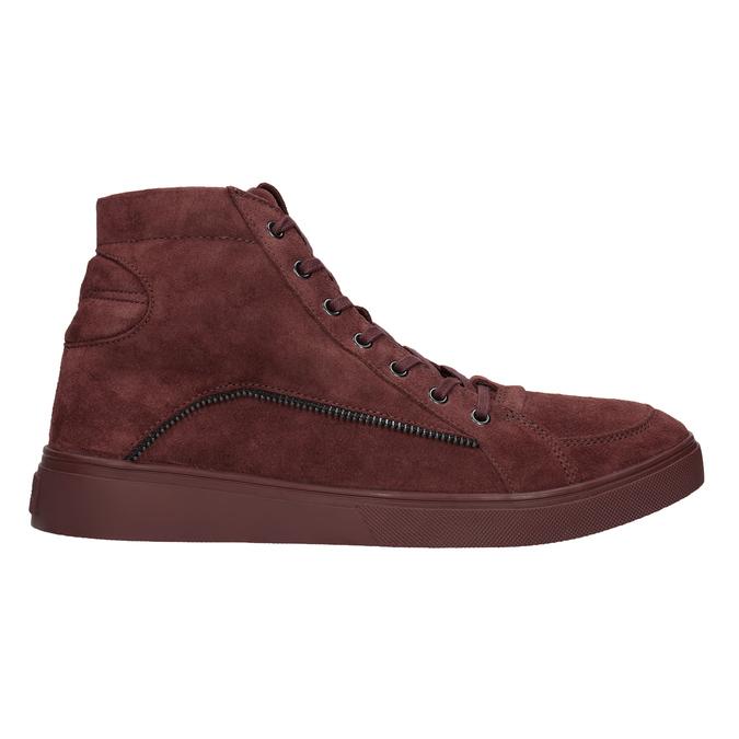 Męskie buty za kostkę diesel, czerwony, 803-5629 - 26