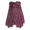 Skórzane rękawiczki damskie bata, fioletowy, 904-0109 - 13
