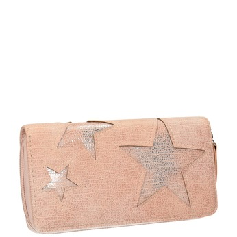 Różowy portfel zgwiazdami bata, różowy, 941-5154 - 13
