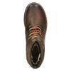Skórzane buty zimowe za kostkę bata, brązowy, 896-4661 - 26