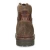 Skórzane buty zimowe za kostkę bata, brązowy, 896-4661 - 15