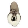 Zimowe buty damskie ze skóry weinbrenner, brązowy, 696-4336 - 17