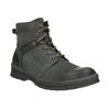 Skórzane obuwie za kostkę weinbrenner, szary, 896-2703 - 13