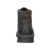 Skórzane obuwie za kostkę weinbrenner, szary, 896-2703 - 16