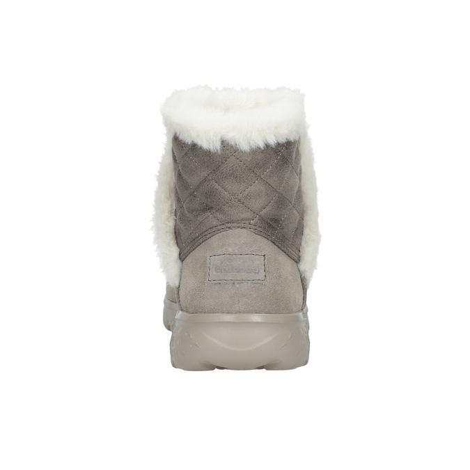 Zamszowe obuwie damskie skechers, 503-3326 - 15