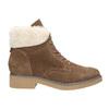 Zimowe buty damskie zfuterkiem bata, brązowy, 593-4607 - 26
