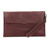 Skórzana kopertówka zprzeszyciami bata, czerwony, 966-5285 - 26
