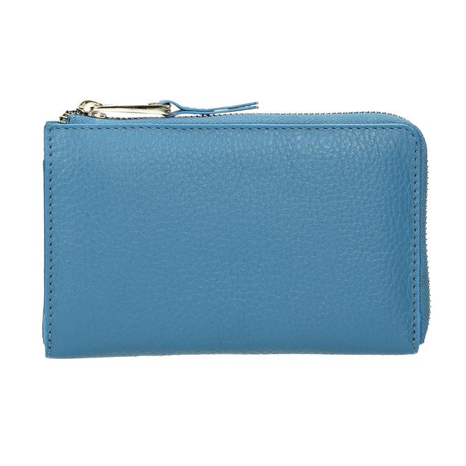 Niebieski portfel ze skóry bata, niebieski, 946-9284 - 26