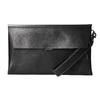 Czarna skórzana kopertówka bata, czarny, 966-6285 - 26