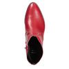 Czerwone botki bata, czerwony, 594-5665 - 17