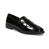 Lakierowane mokasyny damskie bata, czarny, 511-6607 - 13