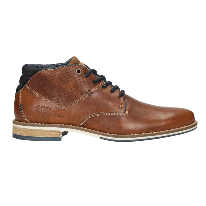 Skórzane buty męskie za kostkę bata, brązowy, 826-3925 - 26
