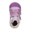 Trampki dziecięce za kostkę zwzorzystymi mankietami bubblegummer, fioletowy, 121-9618 - 15