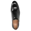 Czarne skórzane półbuty typu oksfordy bata, czarny, 824-6626 - 15