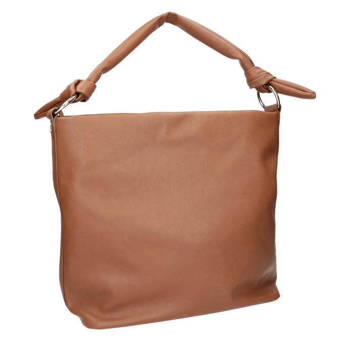 Brązowa torba damska wstylu hobo bata, brązowy, 961-3843 - 13
