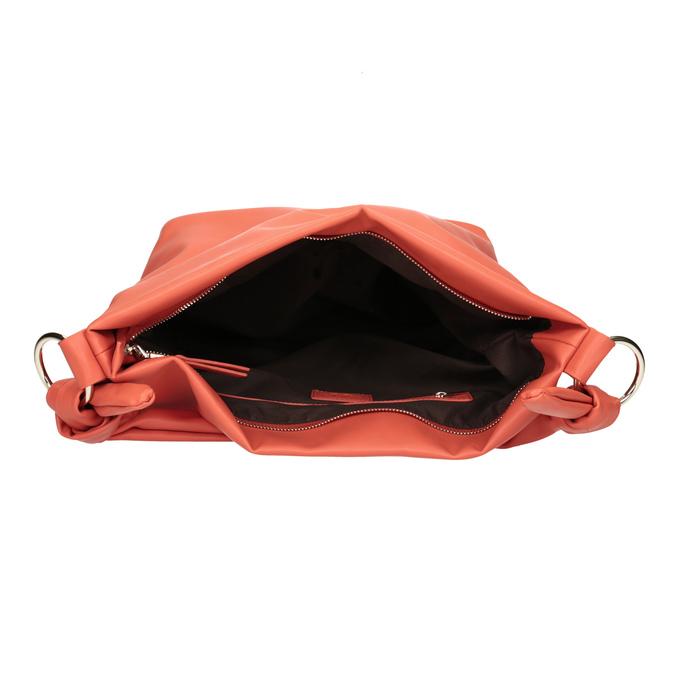 Torba damska wstylu hobo bata, czerwony, 961-5843 - 15