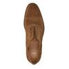 Zamszowe półbuty męskie typu oksfordy bata, brązowy, 823-3618 - 15