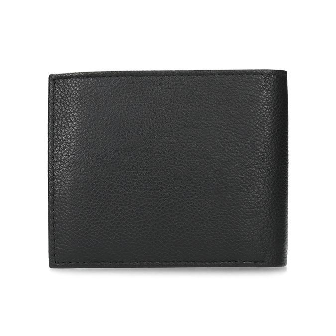 Skórzany portfel męski zrowkami bata, czarny, 944-6206 - 16