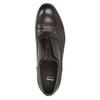 Półbuty typu oksfordy, wykonane wcałości ze skóry bata, brązowy, 826-4826 - 17