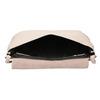 Kremowa skórzana torebka bata, różowy, 964-9291 - 15
