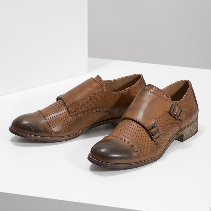 Monki damskie bata, brązowy, 521-4609 - 16