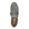 Slip-on damskie zmetalową klamrą bata, szary, 513-2600 - 17