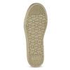 Złote trampki dziewczęce zkryształkami mini-b, złoty, 329-8301 - 18