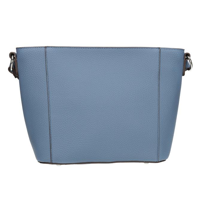 Granatowa torebka damska typu crossbody bata, niebieski, 961-9842 - 26