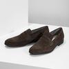Skórzane mokasyny wstylu penny loafersów vagabond, brązowy, 813-4053 - 16