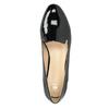 Loafersy damskie na niskich obcasach bata, czarny, 511-6608 - 15
