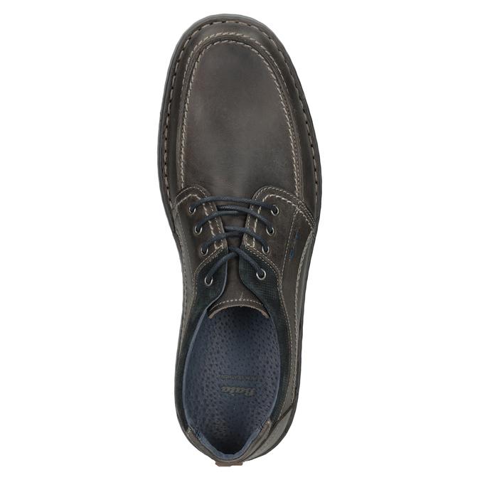 Nieformalne skórzane półbuty męskie bata, 826-2654 - 17