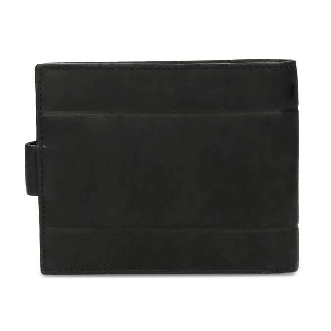 Skórzany portfel męski bata, czarny, 944-6210 - 16