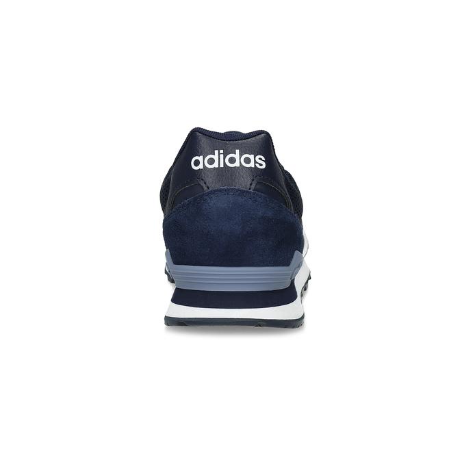 Zamszowe trampki męskie adidas, niebieski, 803-2293 - 15