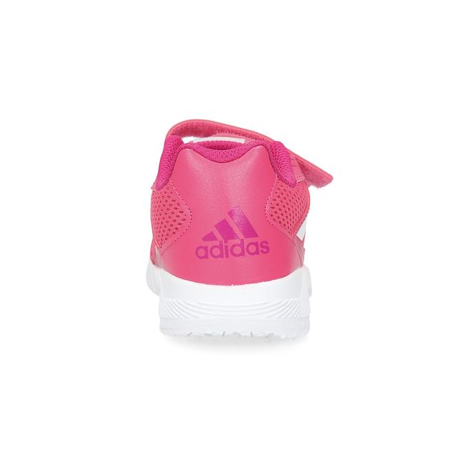 Różowe trampki na rzepy adidas, różowy, 309-5148 - 15