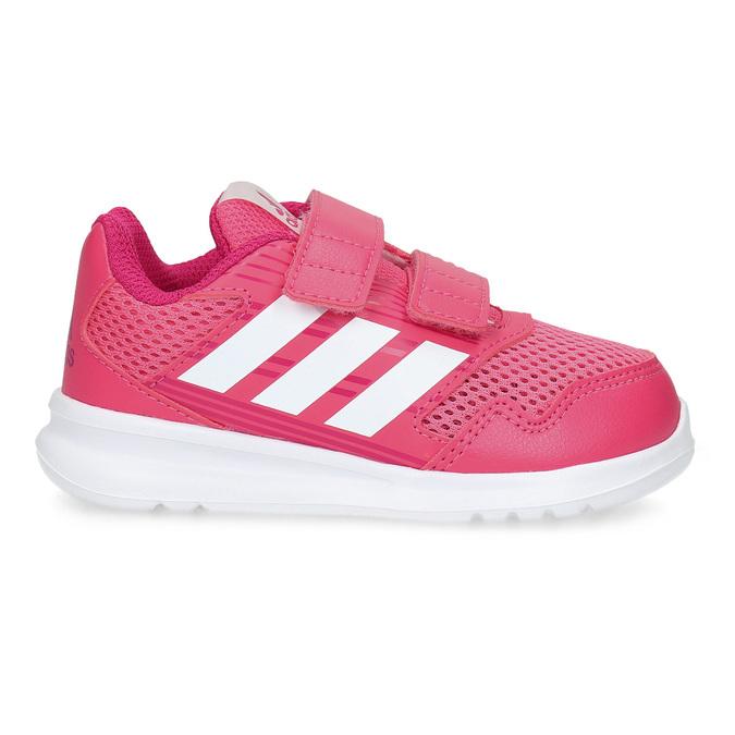 Różowe trampki dziecięce adidas, różowy, 109-5147 - 19