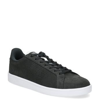 Nieformalne zamszowe trampki adidas, czarny, 803-6394 - 13