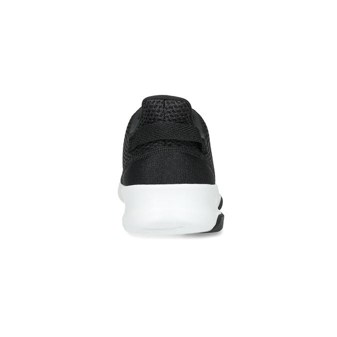 Czarne trampki męskie wsportowym stylu adidas, czarny, 809-6101 - 15