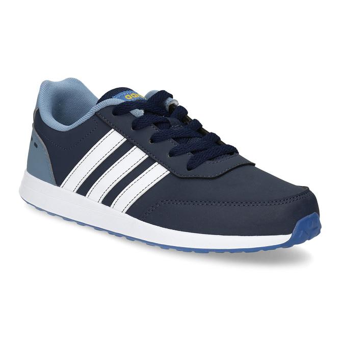 Granatowe trampki dziecięce adidas, niebieski, 401-9181 - 13
