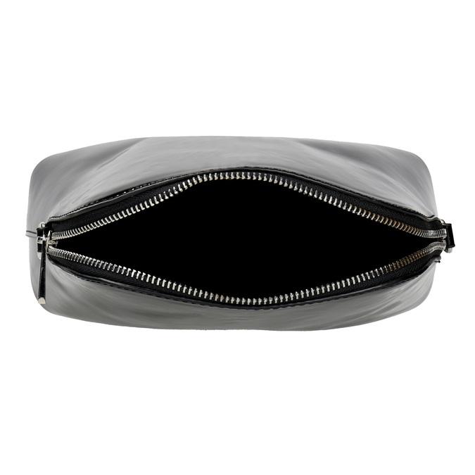 Lakierowana czarna torebka bata, czarny, 961-6850 - 15